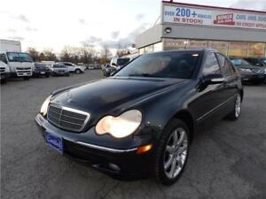 2001 Mercedes-Benz C-240 NO ACCIDENTS ONTARIO VEHICLE CERTIFIED