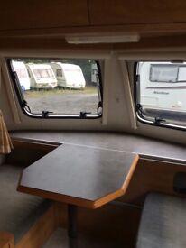 ERIBA TROLL 540 GT 3 BERTH POP TOP CARAVAN