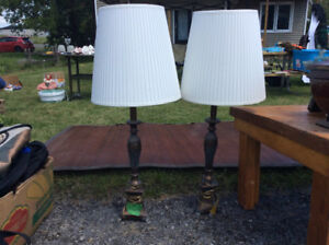 Lampes style antiques