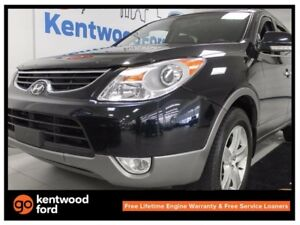 2012 Hyundai Veracruz Limited AWD with a sunroof and power liftg