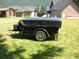 Aspen Classic tent trailer for motorcycle or small car