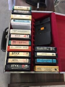 Eight Track A Tracks with case
