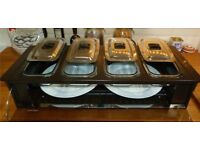 Phillips hostess cabinet / electric heated food server