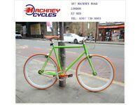 Brand new single speed fixed gear fixie bike/ road bike/ bicycles + 1year warranty & free service w8