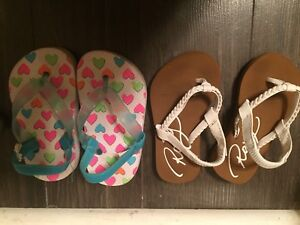 Toddler sandals size 6
