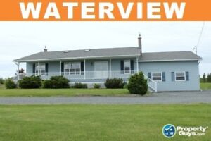 NEW PRICE! Waterview home in Toney River! Sellers MOTIVATED!