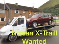 Wanted Nissan X-Traill