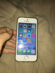 iPhone 5s 215$ nego 16gb silver URGENT