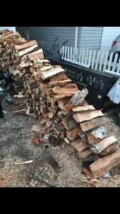 cut and split firewood $20/ bundle