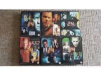 series 24. 1-6 box sets.