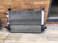 Vauxhall corsa radiator pack