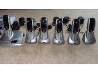 BT Diverse 6450 Cordless Telephone (set of 6)