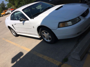 CLEAN TITLE SAFETIED 2000 FORD MUSTANG