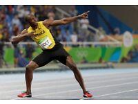 2 X IAAF World Championship- Sat 5th Aug Eve- Usain Bolt 100m Final