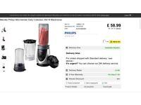 Philips blender Brand New In Box - RRP £58.99