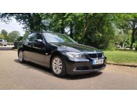 BMW 320I SE 05 PLATE 2005 6 SPEED MANUAL 2 PREVIOUS OWNER 91000 MILES VOSA HISTORY IN BLACK 4DOOR