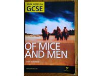 York Notes for GCSE OF MICE AND MEN