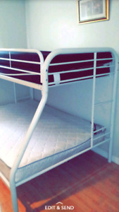 DURABLE IRON BUNK BED FOR SALE