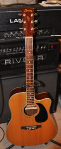 Ibanez PF60sce acoustic guitar mint condition