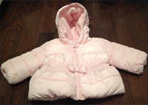 Baby Girl Clothes - Baby Gap Winter Coat