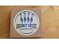 4 Gourmet Cheese Knives- NEW & BOXED!