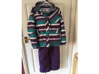 Kids firetrap large skiing jacket and trousers
