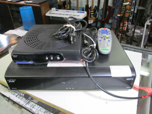 Bell hard disk PVR recorder and satellite receiver