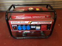 Petrol generator brand new never used only started to see working