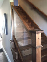 Stairs & Rails - Flooring - Baseboard & Casing