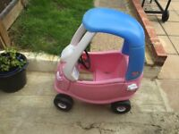 Little Tikes Cozy Coupe Pink - Used