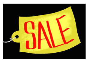 Lots of items for sale- starting from 10 cents!