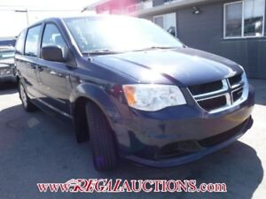 2014 DODGE GRAND CARAVAN  WAGON 4D