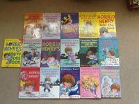 16 Horrid Henry paperback books