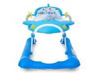 Blue mothercare baby walker