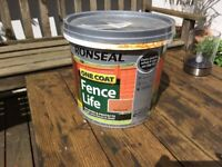 Ronseal one coat Fence Life, Harvest Gold