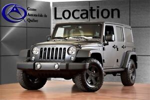 2017 Jeep WRANGLER UNLIMITED BIG BEAR 4X4 2 TOITS AUTO LOCATION