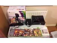 Xbox 360 Kinet and games