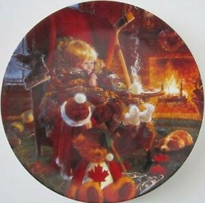 "Collector Plate - ""Toasty Warm"" by Stewart Sherwood, 1992"