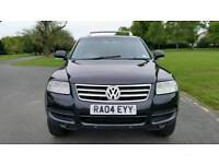 TOP OF RANGE + VW TOUAREG TDI AUTO 2460cc + DIESEL + SAT NAV & FULLY ELECTRIC + HPI CLEAR + ALLOYS +