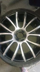 2 sets of truck rims