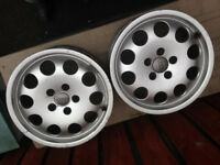 Alloy Wheels from Audi A6 2002. 2 off, - no Tyres