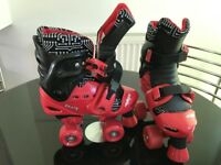 Quad roller skates UK 13J-2 (junior) - VERY GOOD CONDITION