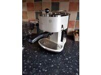 Delonghi coffee machine, used
