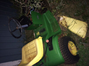 111 Deere mower, parts or repair