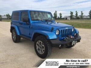 2014 Jeep Wrangler Rubicon 4x4 w/Leather *WARN winch*
