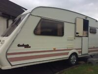 FLEETWOOD GARLAND 2 BERTH CARAVAN