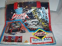 1980's Retro TV MANTA FORCE Bag, ULTRA GEEK CHIC Sealed RARE