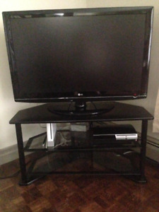 TV & Stand (CHEAP. MOVING SALE!)