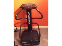Vibro plate hardly used quick sale due to house move