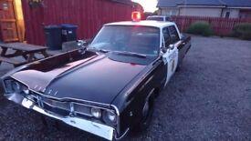 Police car Dodge Polara 1968 5.2 V8